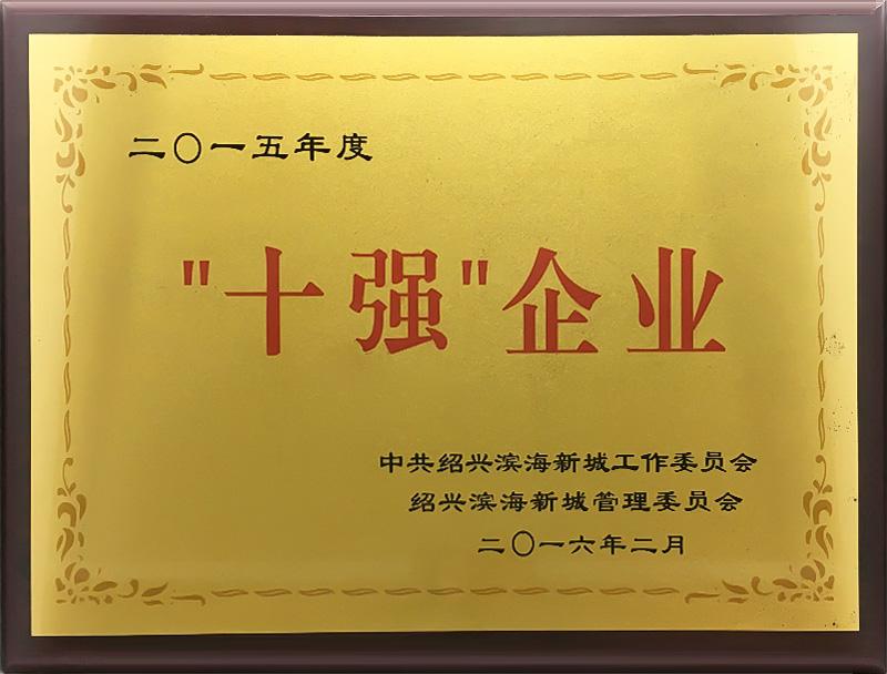 """""""十大""""企业"""